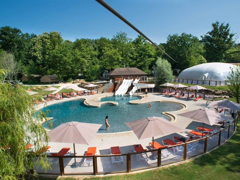 Destination ce camping yelloh paris ile de france louan for Restaurant avec piscine ile de france